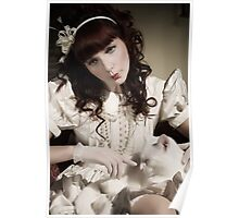 The Porcelain Doll - Porcelain Heart Poster