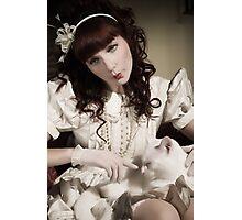 The Porcelain Doll - Porcelain Heart Photographic Print
