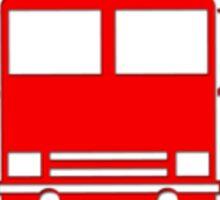 Sam, John, Sarah - Fireman's T-Shirt - Fire Truck Sticker Sticker