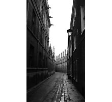 cobbled view... Photographic Print