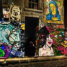 Hosier Lane 2 Melbourne by Ian English