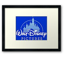 Walt Disney Pictures - Logo Framed Print
