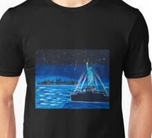 'Liberty at Night' by Lucy Kendrick (2015) Unisex T-Shirt