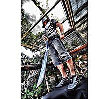 Urban samurai Photographic Print