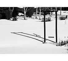 One is one and all alone... Photographic Print