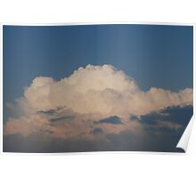 White Clouds Poster