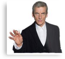 Doctor Who - Listen (Peter Capaldi) Metal Print