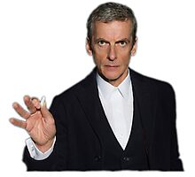 Doctor Who - Listen (Peter Capaldi) Photographic Print