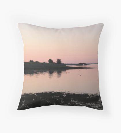 Sunset in Kinvara, Co. Galway Throw Pillow