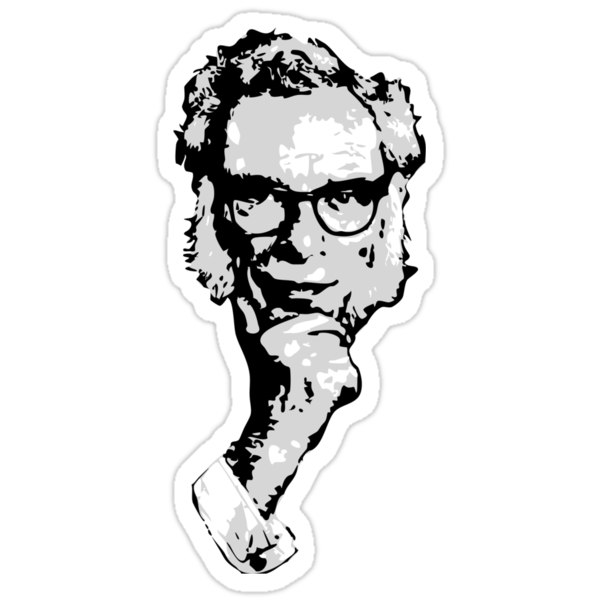 Isaac Asimov by synaptyx