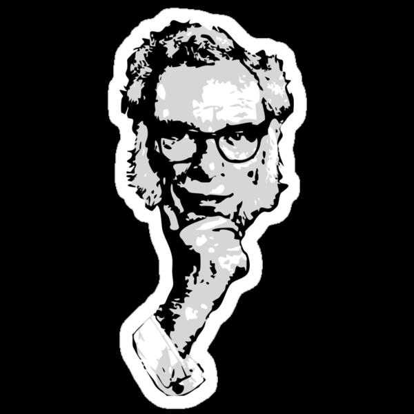 Isaac Asimov by synaptyx