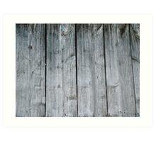 Wooden wall of barn Art Print