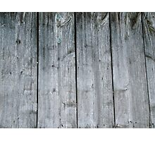 Wooden wall of barn Photographic Print