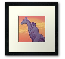 HUMAN/NATURE - 07 Framed Print