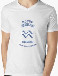 Aquarius of the Celestial Kingdom Mens V-Neck T-Shirt