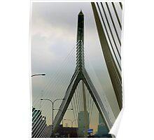 The Leonard P. Zakim Bunker Hill Bridge Poster