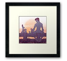 HUMAN/NATURE - 05 Framed Print