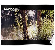 Missing you! Poster