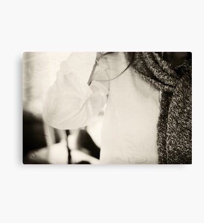 favorite scarf Canvas Print