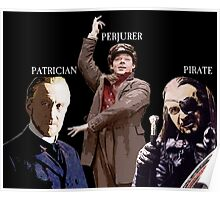 The Patrician, the Perjurer and the Pirate Poster