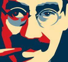 Groucho Marxism poster Sticker