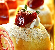Strawberry Pastry by Douglas Alan Photography