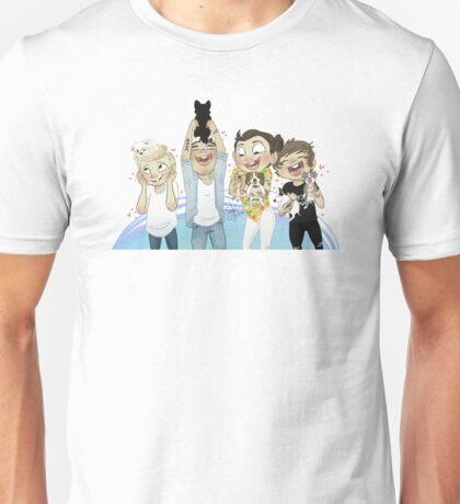 one two three eight ten puppies! Unisex T-Shirt