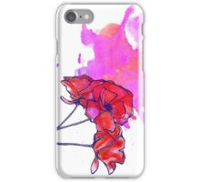 May Poppies iPhone Case/Skin