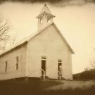 Cades Cove Methodist Church I by A Different Eye Photography