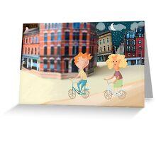 On Yer Bike Greeting Card