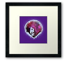 No Mistakes. Just Happy Accidents. Framed Print