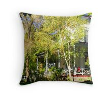 """Bliss Mansion"" Throw Pillow"