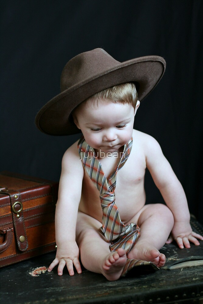 Hat and Tie Baby! by jujubean