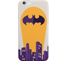 Marvel batman gotham city iPhone Case/Skin