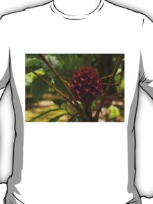 Glorious Red Wax Ginger - a Gift from Hawaii T-Shirt