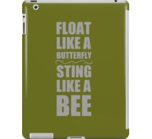 Float Like A Butterfly iPad Case/Skin