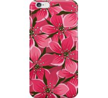Flowers, Petals, Blossoms - Pink iPhone Case/Skin