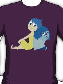 Joy and Sadness - Inside Out T-Shirt