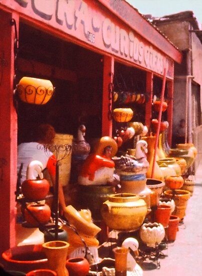 Mexico Pottery Market  by Jay Gross