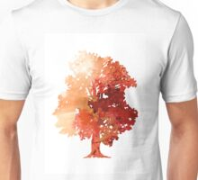 Abstract tree watercolor poster Unisex T-Shirt