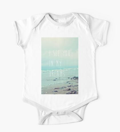 I See You In My Dreams One Piece - Short Sleeve