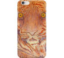 Tiger, Silk Art, Braveheart iPhone Case/Skin