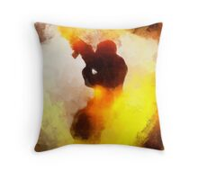 Terror by Pierre Blanchard Throw Pillow