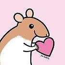 Sweet Ratty Valentine  by zoel