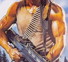 Rambo: First Blood - Promotional Poster Sticker