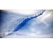 The Fence........... Photographic Print