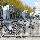 Bicycle outside the Centre Pompidou, Paris by blindskunk