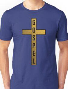 Gold Stone Gospel Cross Unisex T-Shirt