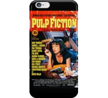 Pulp Fiction - Promotional Poster iPhone Case/Skin