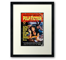 Pulp Fiction - Promotional Poster Framed Print